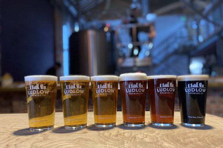 Ludlow Brewery Award Winning Beers